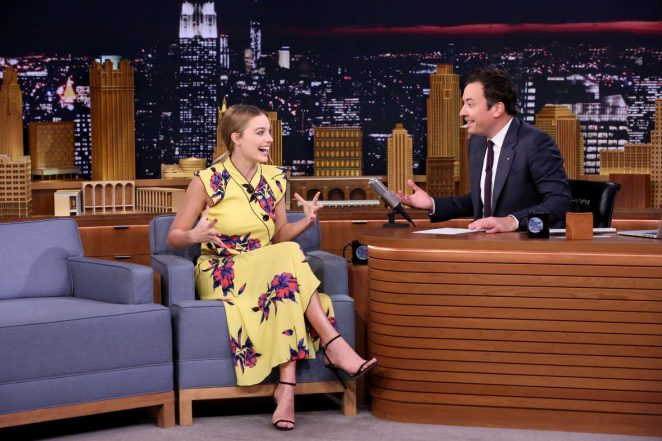 Margot Robbie: The Tonight Show with Jimmy Fallon -07