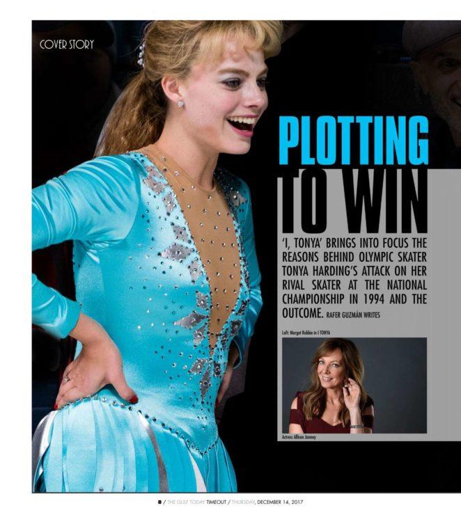 Margot Robbie – Time Out Magazine (December 2017)