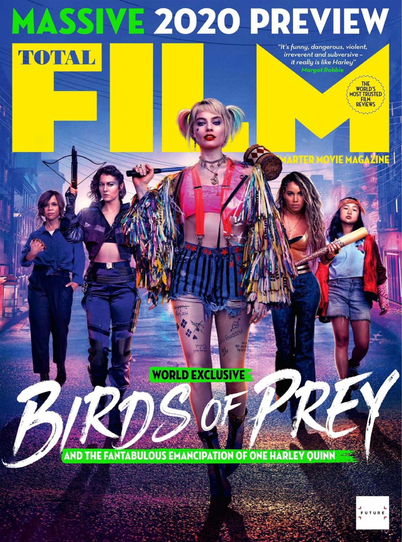 Margot Robbie - Total Film Magazine (Christmas 2019)
