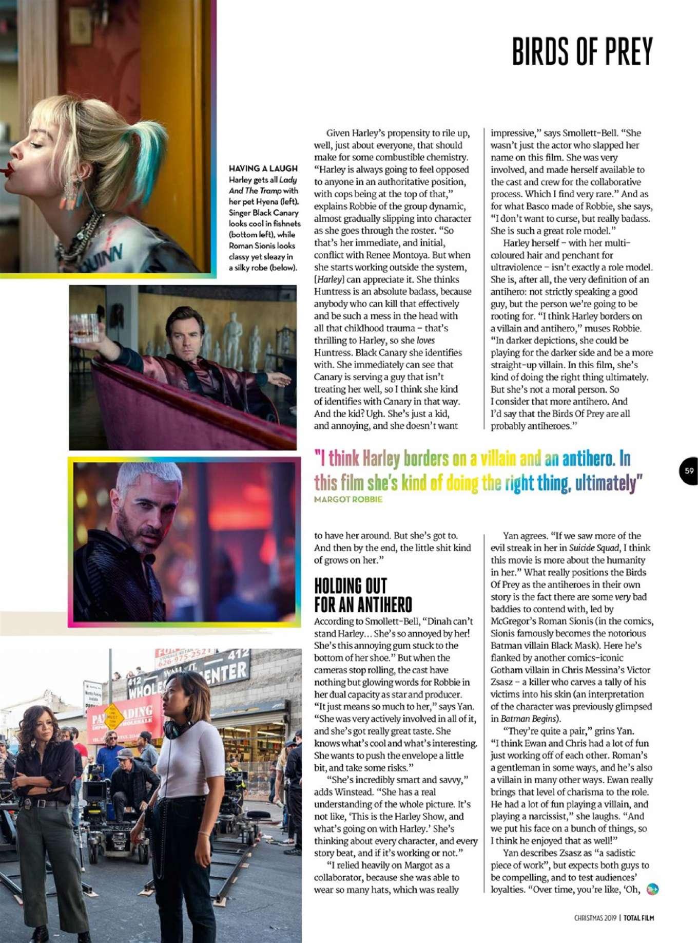 Margot Robbie 2019 : Margot Robbie – Total Film 2019-11