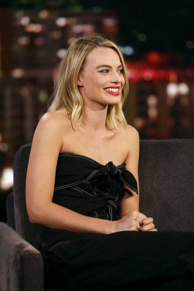 Margot Robbie – Visits 'Jimmy Kimmel Live!' in Los Angeles