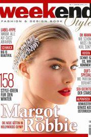 Margot Robbie - Weekend Style Magazine (Winter 2019)