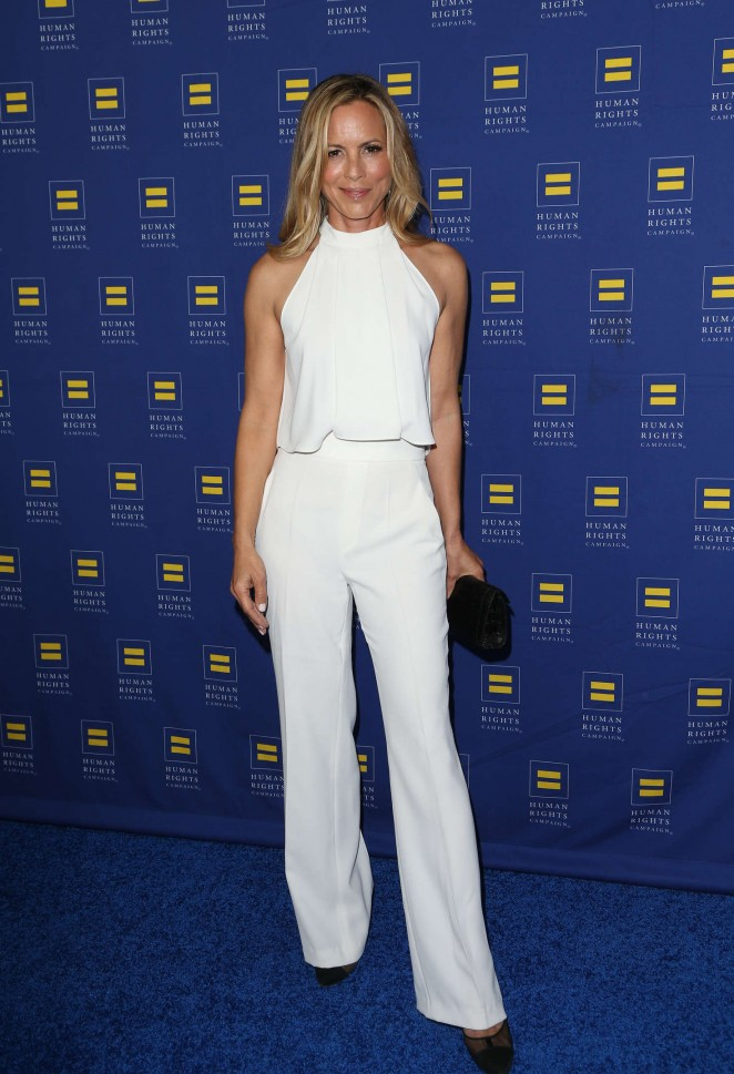 Maria Bello - Human Rights Campaign 2016 Gala Dinner in Los Angeles