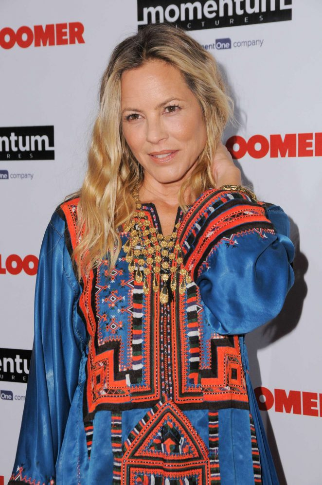Maria Bello - 'The Late Bloomer' Premiere in Los Angeles
