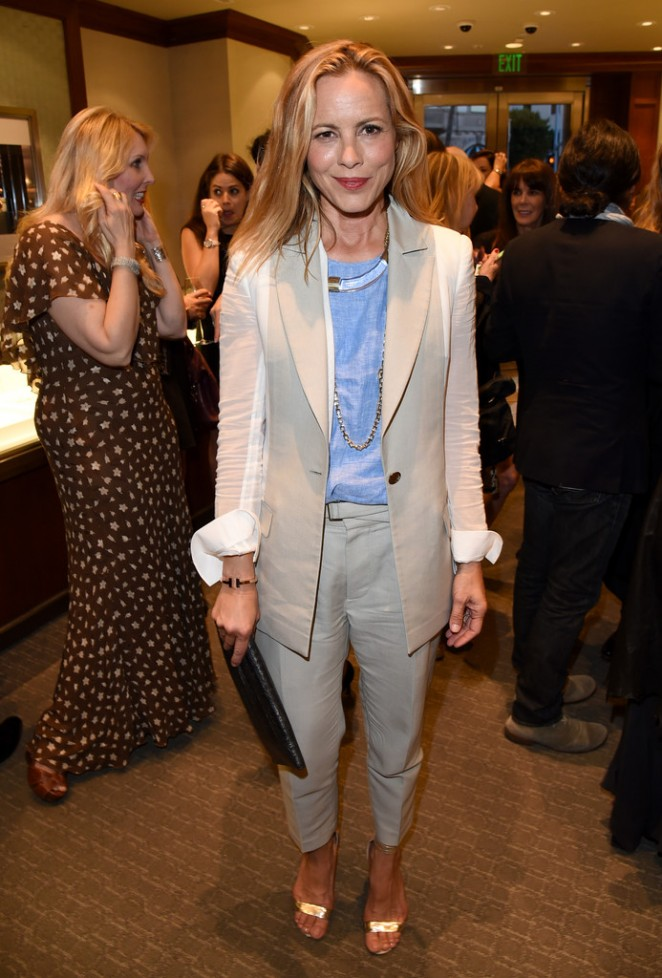 Maria Bello - Tiffany & Co. And Women In Film Celebrate Sue Kroll in Beverly Hills