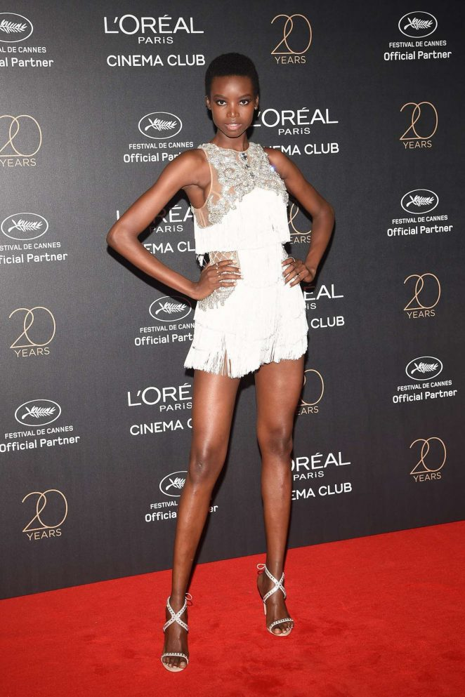 Maria Borges - L'Oreal 20th Anniversary Party in Cannes