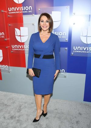 Maria Elena Salinas - Univision's 2016 Upfront Red Carpet in New York