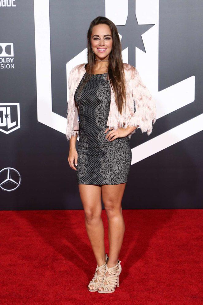 Maria Elisa Camargo - 'Justice League' Premiere in LA