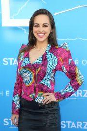 Maria Elisa Camargo - 'The Rook' Premiere in Los Angeles