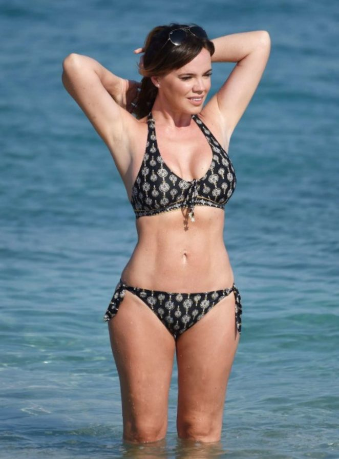 Maria Fowler in Bikini on holiday in Cape Verde