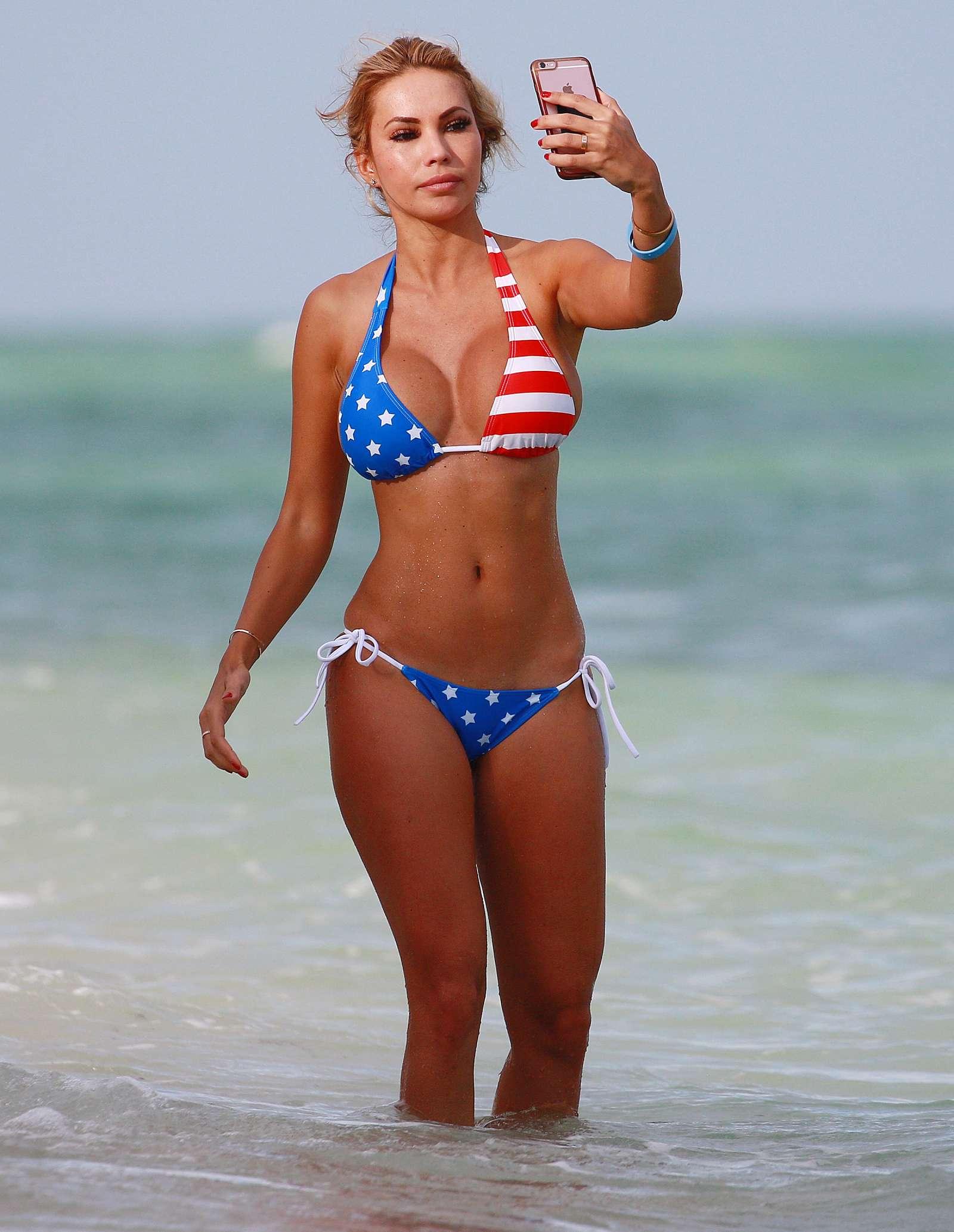 Maria Hering in a USA Bikini 2016 -02   GotCeleb