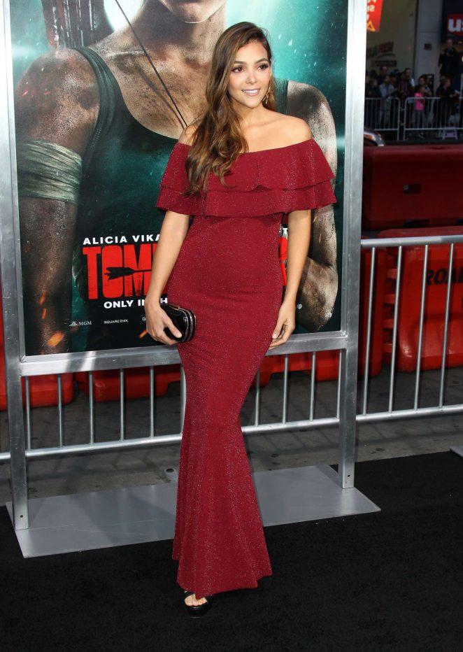 Maria Laura Quintero - 'Tomb Raider' Premiere in Hollywood