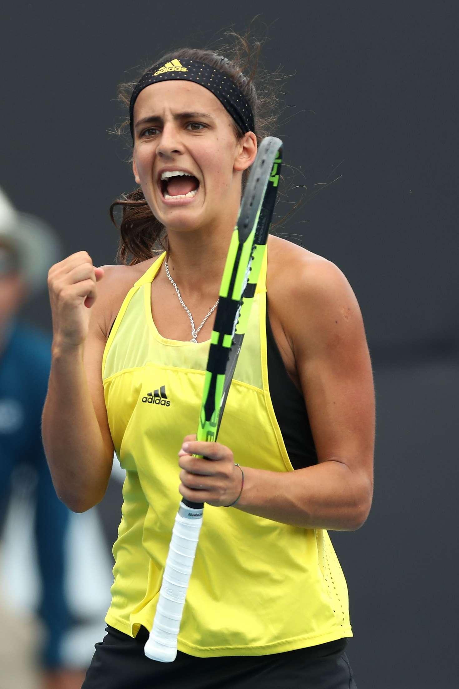 Maria Lourdes Carle: 2018 Australian Open Day 7