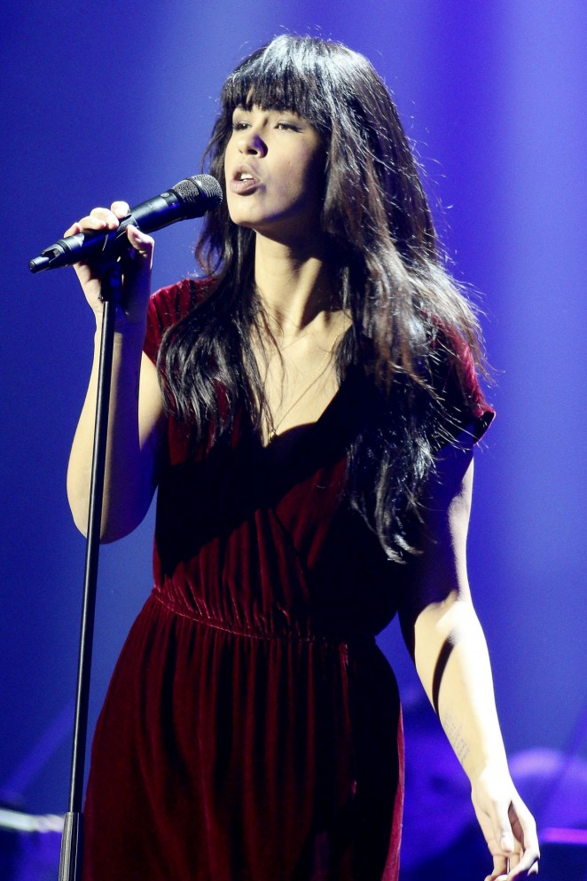 Maria Mena At 2015 Night Of The Proms Tour At Barclaycard Arena In Hamburg