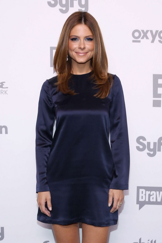 Maria Menounos – 2015 NBCUniversal Cable Entertainment Upfront in NYC