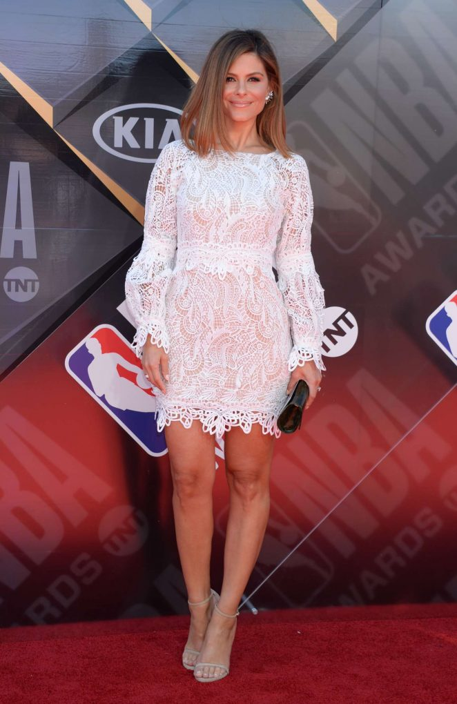 Maria Menounos - 2018 NBA Awards in Santa Monica