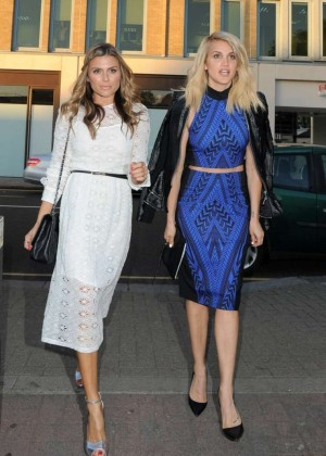 Maria Menounos and Ashley Roberts - Attend Taylor Morris Party