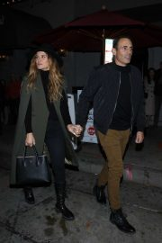 Maria Menounos and Keven Undergaro - Outside Craig's Restaurant in West Hollywood