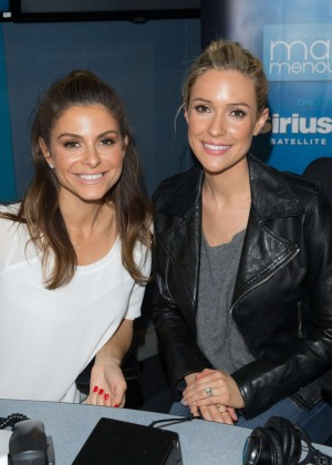 Maria Menounos and Kristin Cavallari - SiriusXM's 'Conversations with Maria' in LA