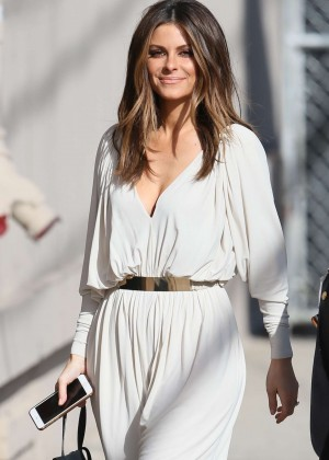 Maria Menounos - Arriving at 'Jimmy Kimmel Live' in LA