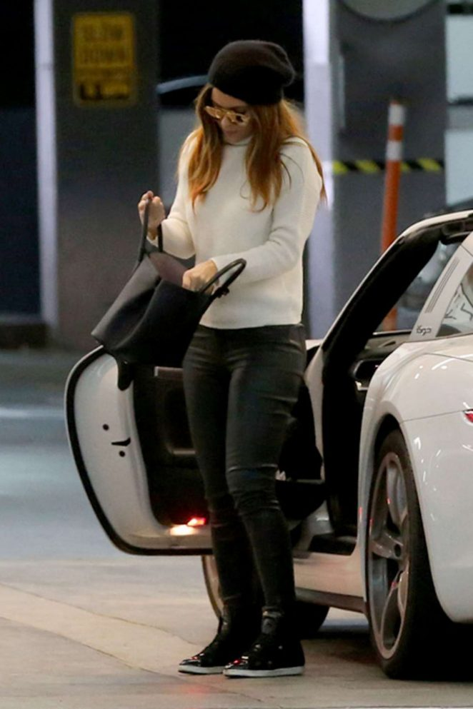 Maria Menounos at Boa Steakhouse in Beverly Hills