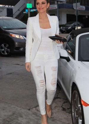 Maria Menounos at Craig's Restuarant in West Hollywood