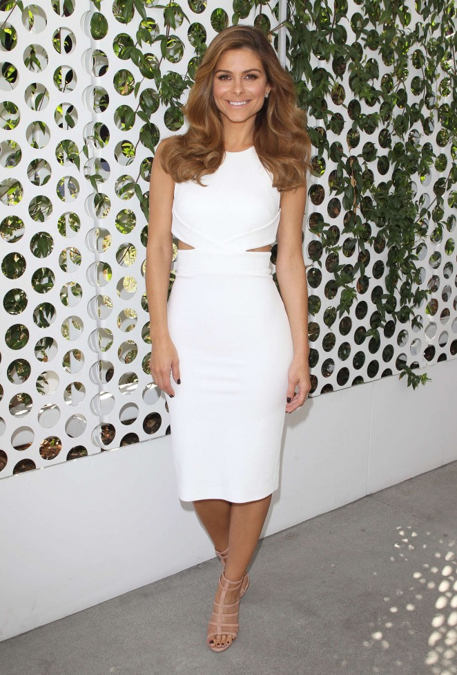 Maria Menounos at Her First Day as E!News Anchor in LA