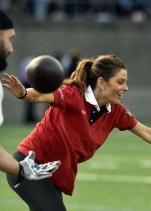 Maria Menounos - Best Buddies International Charity Game in Boston