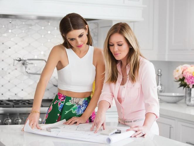 Maria Menounos Kitchen Backsplash