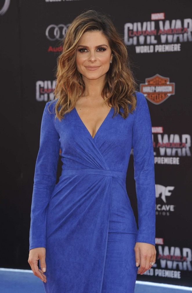 Maria Menounos - 'Captain America: Civil War' Premiere in Hollywood