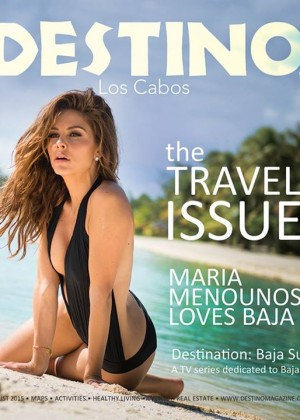 Maria Menounos - Destino Magazine (August 2015)