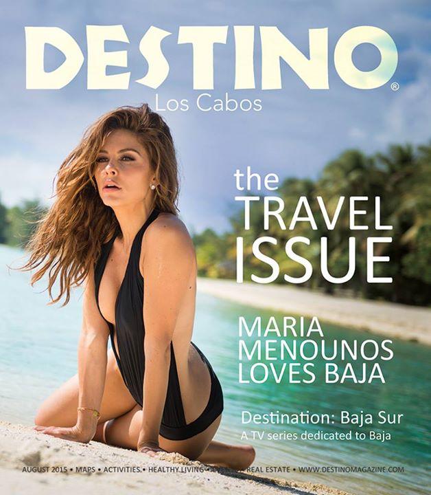 Maria Menounos – Destino Magazine (August 2015)