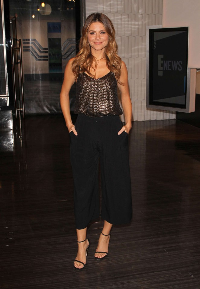 Maria Menounos - E News Anchor Daily Fashion in Los Angeles