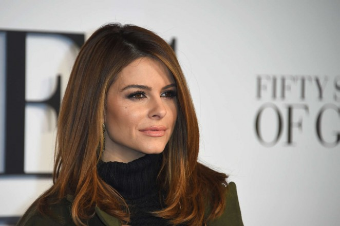 Maria Menounos: Fifty Shades of Grey UK Premiere -01