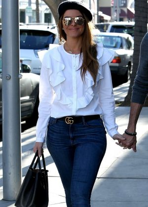 Maria Menounos in Jeans - Out and about in Beverly Hills