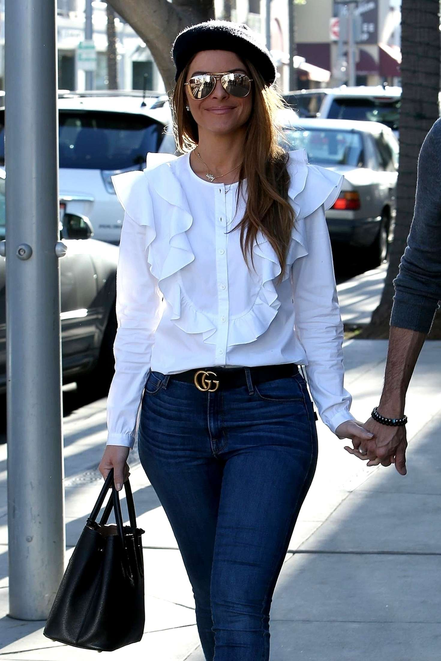 Maria Menounos In Jeans Out And About In Beverly Hills