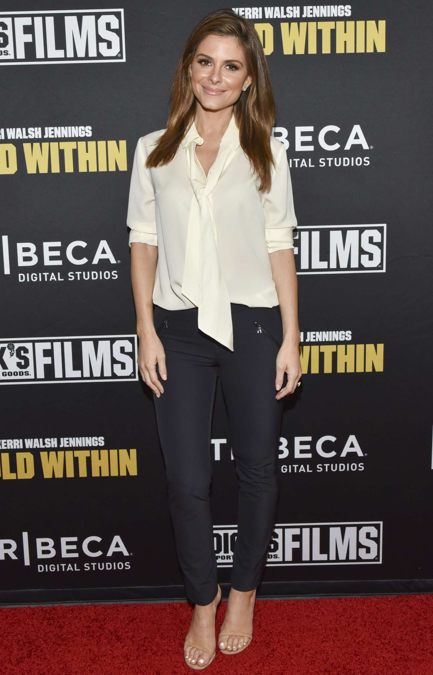 Maria Menounos - 'Kerri Walsh Jennings: Gold Within' Premiere in Beverly Hills