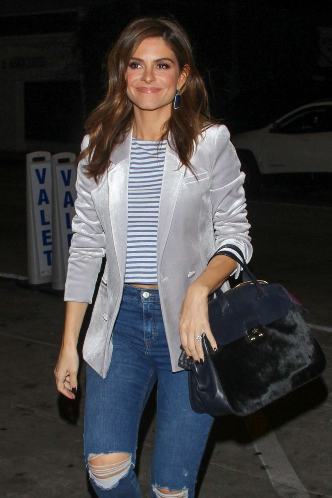 Maria Menounos – Leaves a birthday party at Catch LA in West Hollywood