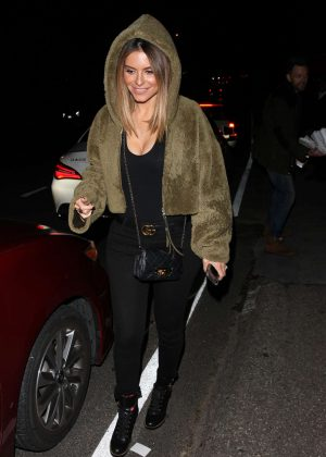 Maria Menounos - Leaving Jennifer Klein's holiday party in Los Angeles