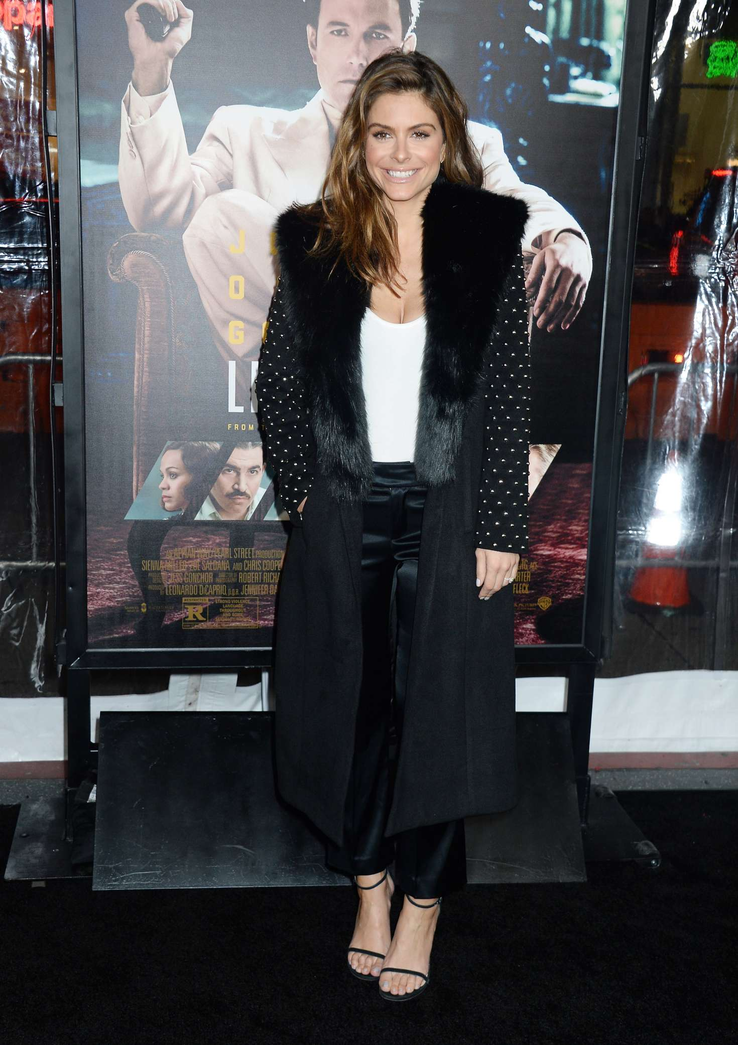 Maria Menounos - 'Live By Night' Premiere in Los Angeles