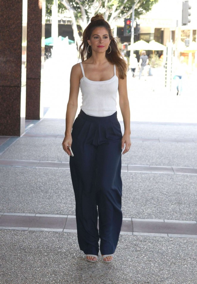 Maria Menounos out and about in LA -17