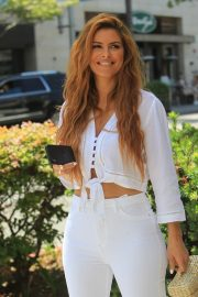 Maria Menounos - Out for lunch at La Scala in Beverly Hills