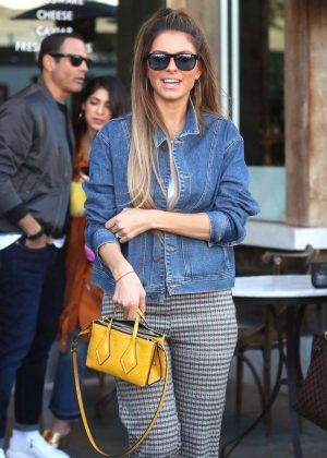 Maria Menounos - Out for lunch in Beverly Hills