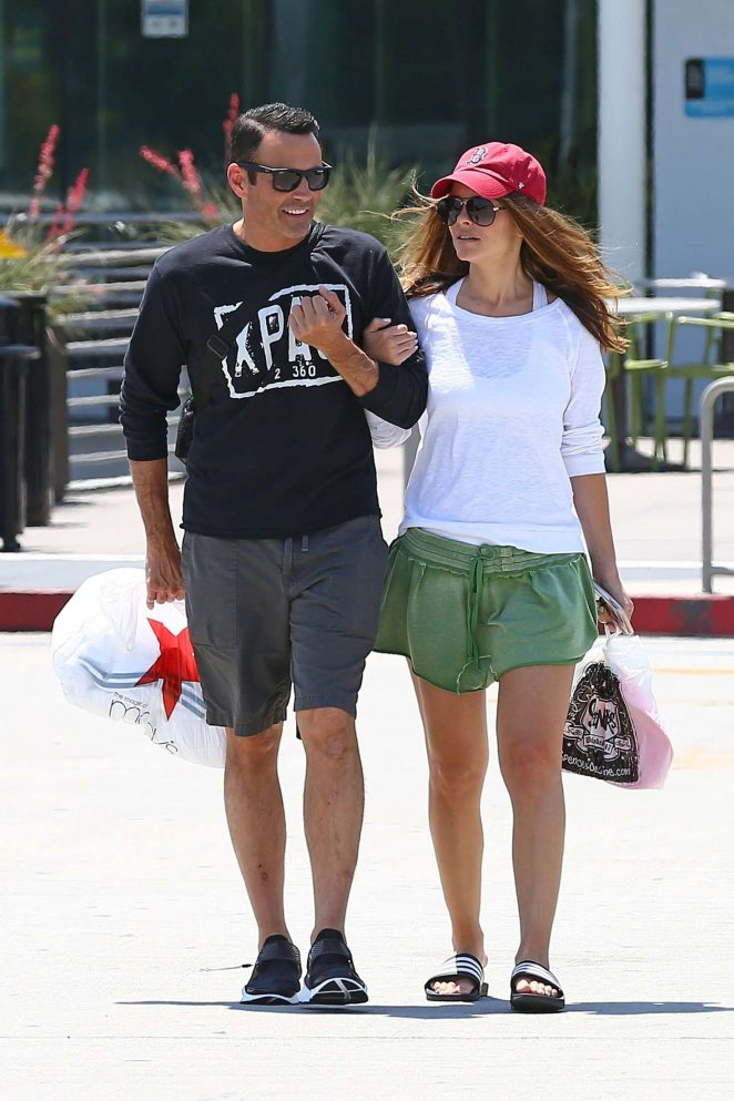 Maria Menounos out in Los Angeles
