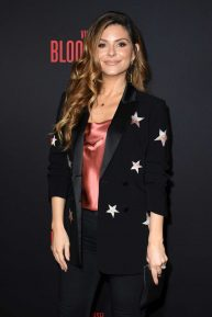 Maria Menounos - Pictured at 'Bloodshot' Los Angeles premiere