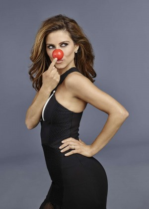 Maria Menounos - Red Nose Day Promotional Photos 2015