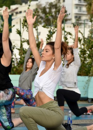 Maria Menounos - SELF Get #UPnOUT Event in West Hollywood