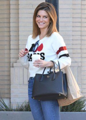 Maria Menounos - Shopping at Barneys New York in Beverly Hills