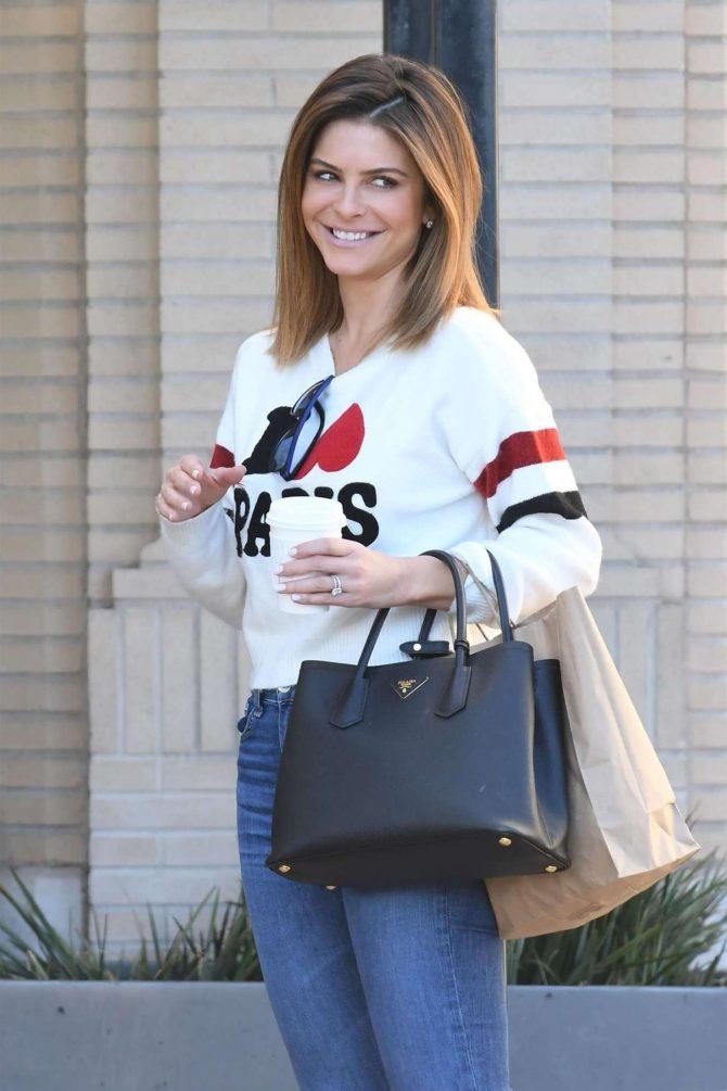 Maria Menounos – Shopping at Barneys New York in Beverly Hills