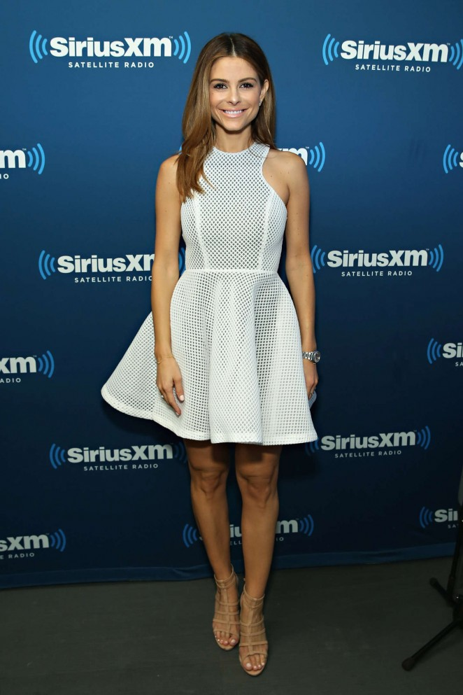 Maria Menounos: SiriusXMs Town Hall with Rob Gronkowski -05